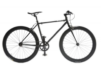 Pure Fix Cycles Fixed Gear 43cm/ XX-Small Single Speed Urban Fixie Road Bike, Juliet Matte Black