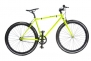Pure Fix Cycles Fixed Gear 43cm/ XX-Small Single Speed Urban Fixie Road Bike, Glow Yellow/ Black